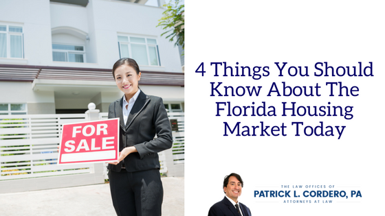 4 Things You Should Know About the florida housing market today
