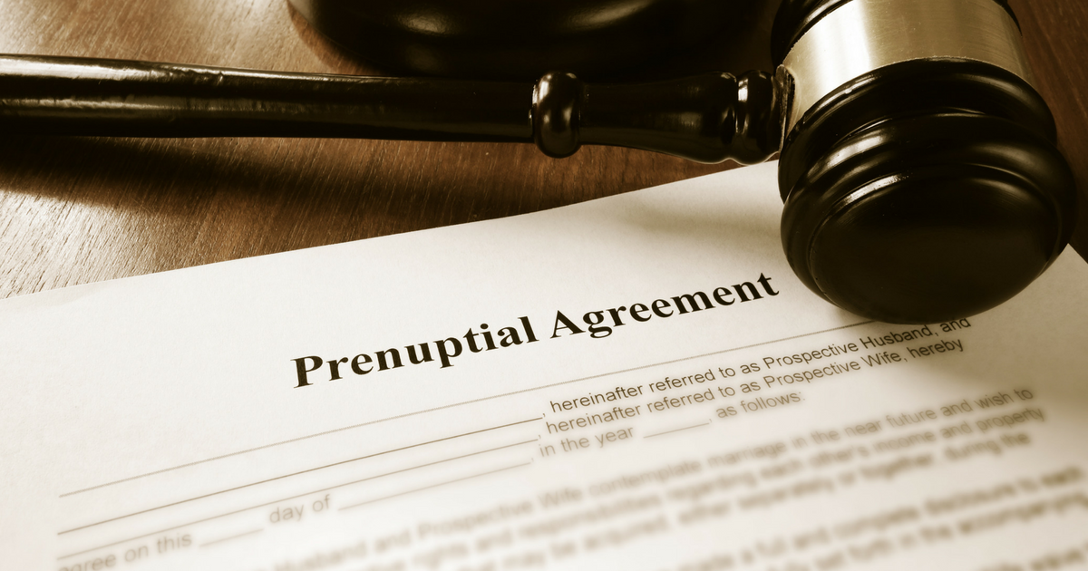 Can My Prenuptial Agreement Protect Me From Bankruptcy?