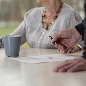 Divorcio para personas mayores