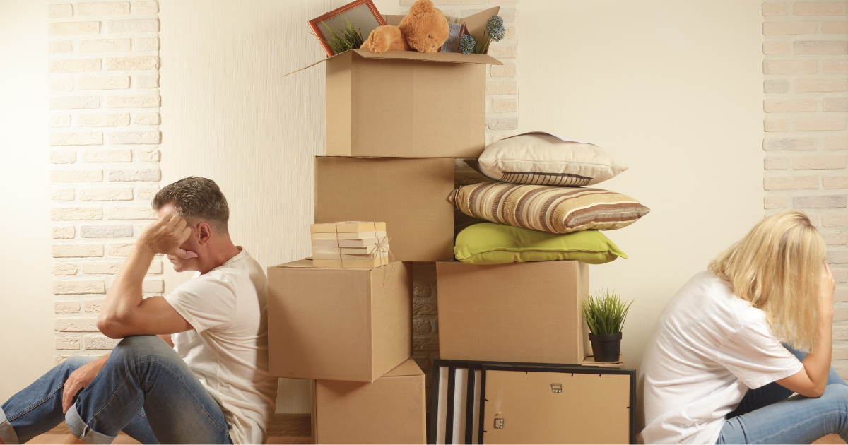 Moving Out After Divorce: Are You Abandoning Family and Assets?