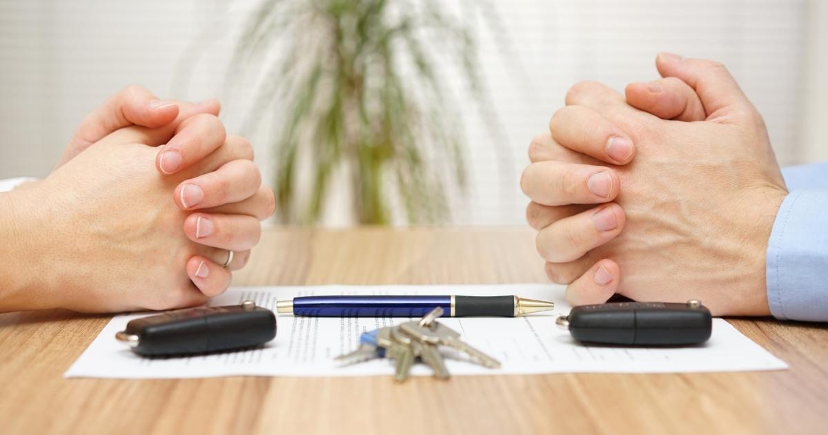 dividing business assets during divorce