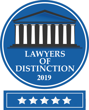 Lawyers of Distinction 2019 Patrick Cordero