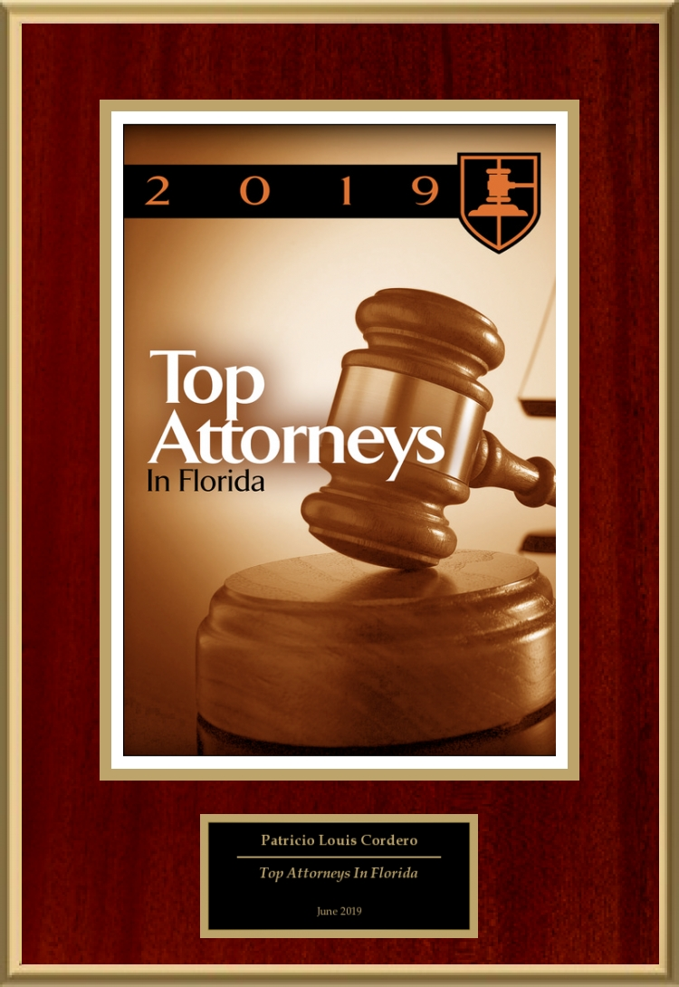 Top Attorneys In Florida Patrick Cordero